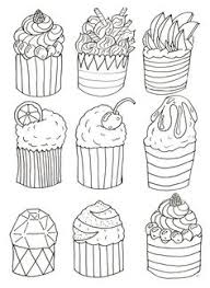 cupcake coloring pages to print print coloring image coloring coloring books and kids