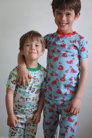 at home kcw woodland creature pjs for both boys