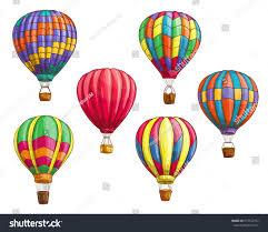 air balloon pattern ornament design stock vector 637547737