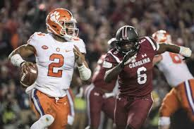 clemson takes top spot in college football playoff rankings