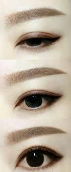 tutorial alis mata untuk wajah bulat tutorial cara membuat alis mata dengan pensil alis korea atau