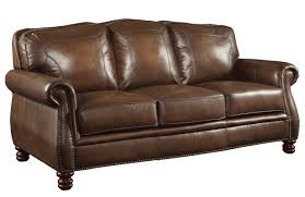 leather sofa nailed sofa wayfair