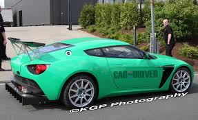 zagato car aston martin v12 zagato spied in race trim car and driver blog