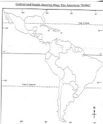 Central And South America Map Quiz by Daily Agenda And Homework Semester 2 Lewis