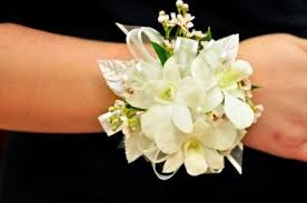 flower corsage white orchid wax flower corsage in cape coral fl enchanted