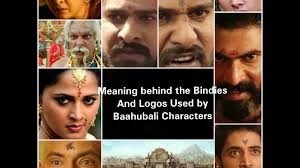 baahubali 2 hidden meaning behind the bindis and logos of