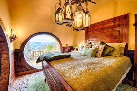 hobbit home interior spend the in this magical hobbit house tucked into the