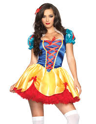 Halloween Costumes Snow White Leg Avenue Costumes 86316 2 Pc Fairy Tale Snow White Costume