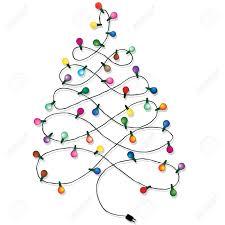 light string christmas tree christmas lights decoration