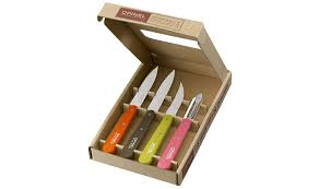opinel kitchen knives box essentials fifties amazon co uk