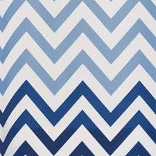 Gray And White Chevron Curtains by Amazon Com Interdesign Ombre Chevron Fabric Shower Curtain 72