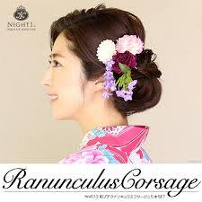 hair corsage dress shop night1 rakuten global market hair ornament corsage