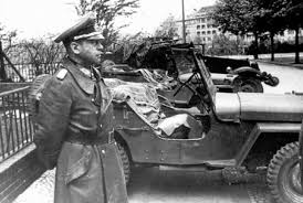 russian jeep ww2 general hans krebs who arrived for talks with the soviet command