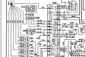 1995 volvo 850 radio wiring diagram wiring diagram