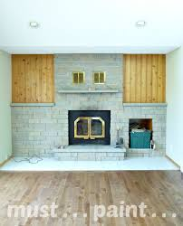 planning to paint a brick fireplace inspiration dans le lakehouse