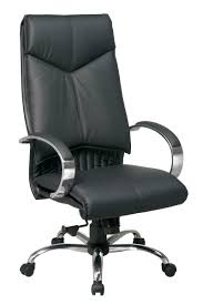 White Leather Office Chair 8200 Office Star Deluxe High Back Executive Leather Office Chair