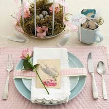 table decorations for easter 20 easy easter table decorations and placemats interior