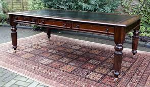 antique partners desk library table antiques atlas