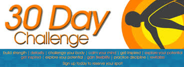 Challenge Your 30 Day Challenge