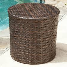 Outdoor Side Table Ideas by Furniture Winning Plastic Outdoor End Table Outdoor Furniture