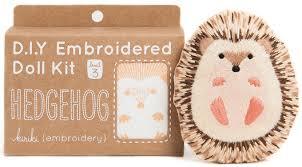 kiriki press creates adorable diy embroidery kits
