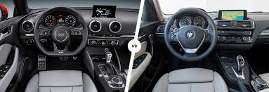 hatchback cars inside audi a3 vs bmw 1 series hatchback comparison carwow