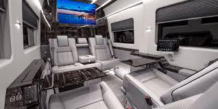 Custom Car Upholstery Near Me Becker Automotive Design Luxury Transport Coaches Sprinter