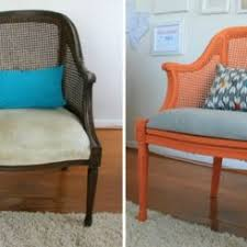Recovering An Armchair 28 Before After Reupholstered Chairs