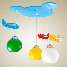 ceiling light toys for babies wooden bear head kid s room pendant ls cute airplane baby room