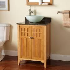 Powder Room Vanity With Vessel Sink Eco Friendly Vessel Sink Vanity Signature Hardware