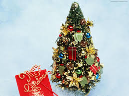 miscellaneous gift tree decorated small christmas merry beautiful