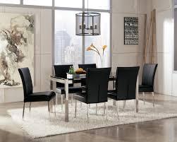 magnificent modern dining room interior design with rectangular