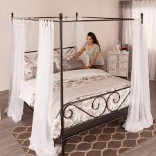 aarberg bed canopy frame attachment bed frames bedroom