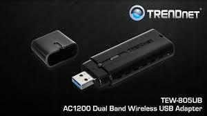 Tpl 406e2k Trendnet Tew 805ub Ieee 802 11ac Wi Fi Adapter For Desktop