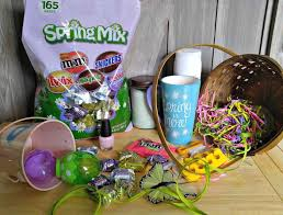 easter egg hunt baskets build an easter basket with clues the gardening cook