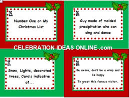 super fun christmas party game holiday tune 28 clues