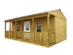 portable style side porch cabin milton portable buildings sheds