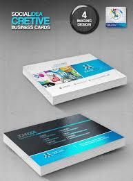 Social Network Business Card Socialidea Creative Social Media Business Cards