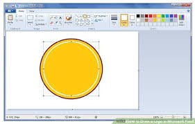 how to draw a logo in microsoft paint 7 steps with pictures
