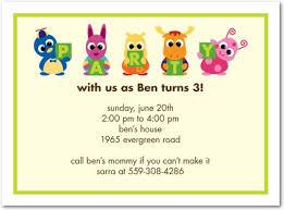 kids birthday invitation kids birthday invitation using an