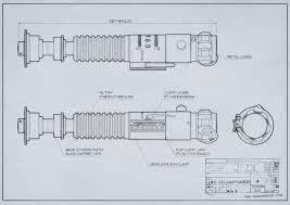 luke rotj lightsaber blueprints
