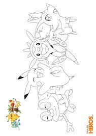 Coloriages Pokémon à découvir sur le blog de TLH   ่่่jubchay