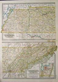 Map Of Chattanooga Tennessee by Prints Old U0026 Rare Chattanooga Tennessee Page