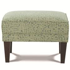 Rowe Ottoman Rowe Chairs And Accents Willard Contemporary Rectangular Ottoman