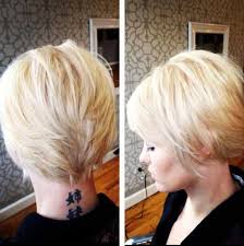 front and back views of chopped hair 20 back view of pixie haircuts pixie cut 2015
