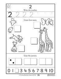 kindergarten preschool math worksheets learning 2 greatschools