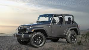 matte grey jeep wrangler 2 door 2014 jeep wrangler willys wheeler debuts at l a auto show rides