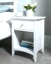 tall white side table tall side table with drawers musho me