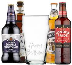 birthday drink wine wine sellers mixed beer gift pack 8 with hand engraved u0027happy
