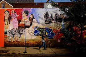 how chicago became a mexican culinary center mofad city street mural at w 18th street and s wood street in pilsen